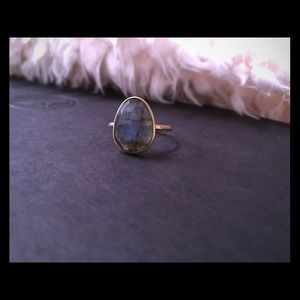 Jewelry - labradorite gold plated ring 💍